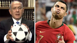 Netanyahu usa il rigore sbagliato da Ronaldo per spronare gli iraniani a fare la