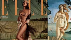 Le Elle Brésil recrée cinq oeuvres d'arts avec des vedettes