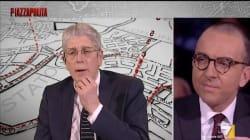 A PIAZZAPULITA - Scontro fra Mario Giordano e Alessandro De Angelis, il giornalista lascia lo