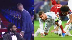 Sergio Ramos ha fatto il bullo con Salah ai sorteggi di