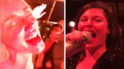Giusy Ferreri canta Roma-Bangkok e manda in estasi