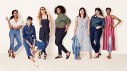 Une collection de vêtements en denim inclusive pour les femmes de toutes les