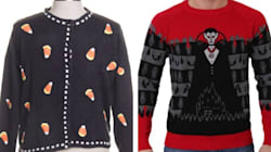 Ugly Halloween Sweaters Are The Latest Hideous Holiday