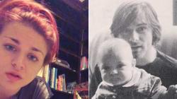 Il debutto musicale della figlia di Kurt Cobain (nel giorno della scomparsa del padre) è da