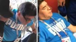 Paura per Maradona: si sente male e viene portato in