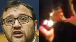 Tessera del Pd bruciata. Paolo Ferrara, capogruppo M5s a Roma, pubblica il video: