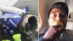 Esplode un motore sul volo New York-Dallas: un morto e sette