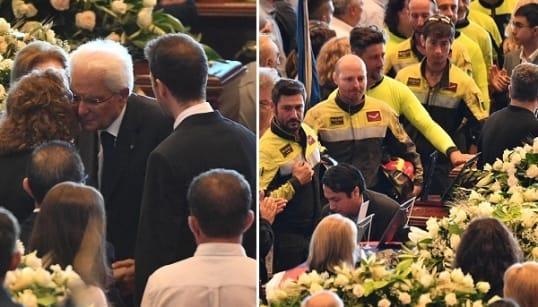 LO STATO CHE C'È - I Vigili del Fuoco e il Capo dello Stato: per i familiari delle vittime del crollo del ponte Morandi i sim...