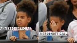 La faccia di Blue Ivy durante il ballo sensuale di mamma Beyoncé è
