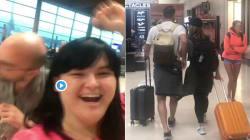 Questa donna ha fatto da Cupido a due sconosciuti in aereo (grazie a un cambio di