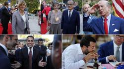 Stelle e strisce gialloverdi. Parata di ministri (e non solo) alla festa dell'ambasciatore Usa (di G.
