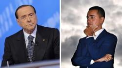 Silvio Berlusconi contro Luigi Di Maio: