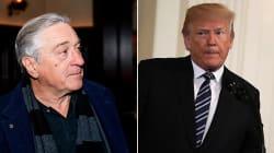 De Niro vieta a Trump di mangiare nei suoi
