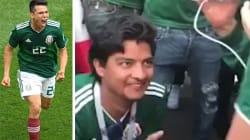 Il Messico trionfa e il tifoso sceglie il modo migliore per
