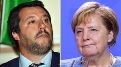 Salvini contro Merkel: odio sociale in Germania causato dalle porte aperte ai