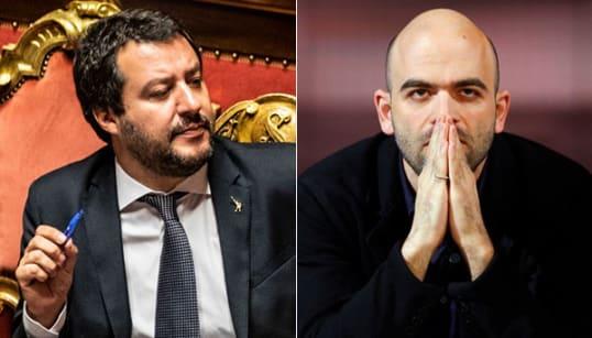 Querela su carta intestata del Viminale. Salvini porta Saviano dal giudice (DOCUMENTO) (di A. De