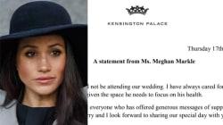 Il primo messaggio di Meghan Markle da Kensigton Palace è per il