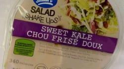 Une salade de chou frisé de marque «Eat Smart» fait l'objet d'un