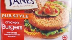 Des burgers de poulet possiblement contaminés à la