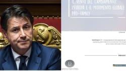 CONTE DICE NO AL PATROCINIO -