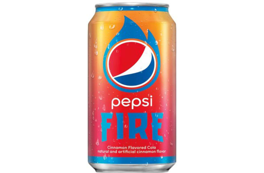 pepsi releases new cinnamon flavored pepsi fire nationwide aol