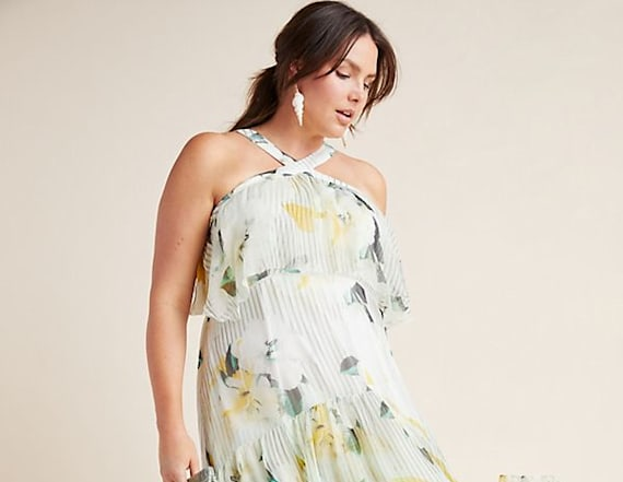 Anthropologie just debuted a plus size collection