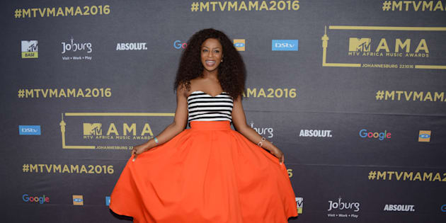 """Jessica Nkosi is not the shy character that she plays in """"Isibaya""""."""