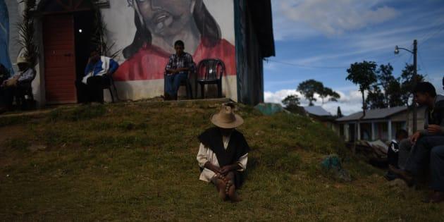 Chenalhó, Chiapas, imagen del 1 de enero de 2015.