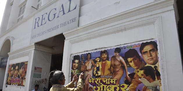 Regal Theatre, the 85-year-old iconic cinema in the heart of Delhi, shut its doors to moviegoers on Thursday, on March 30, 2017 in New Delhi, India.