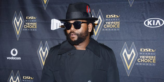Sjava during the inaugural DStv Mzansi Viewers Choice Awards (DStvMVCA) event at the Sandton Convention Centre on August 26, 2017 in Sandton. He took home the award for best Newcomer of the year.