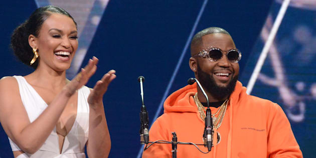 Pearl Thusi and Cassper Nyovest.