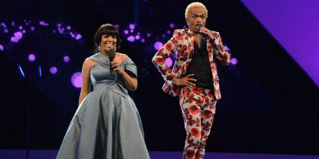 Tumi Morake and Somizi Mhlongo as hosts of Sama23.