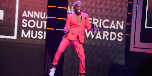 DURBAN, SOUTH AFRICA � JUNE 04: Somizi attends the 22nd annual South African Music Awards (SAMAs) at the Durban International Convention Centre on June 04, 2016 in Durban, South Africa. The SAMAs are the Recording Industry of South Africa's music industry awards, established in 1995. (Photo by Gallo Images / Frennie Shivambu)