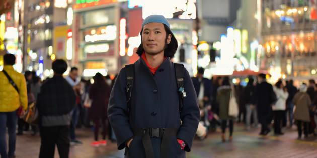 丹羽良徳さん=東京・渋谷