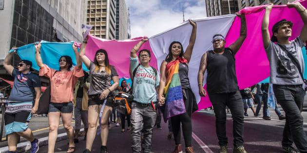 Na próxima sexta-feira(1), acontece em São Paulo a 1ª Marcha do Orgulho Trans.