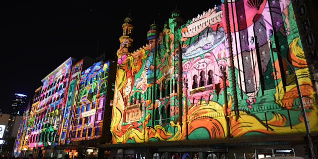 White Night 2017 attracted a crowd of almost 600,000 to Melbourne.