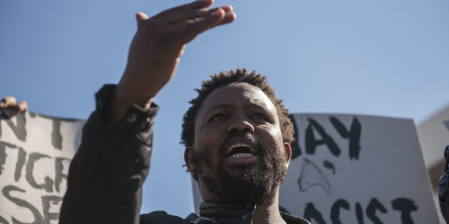 Black First Land First (BLF) leader Andile Mngxitama.