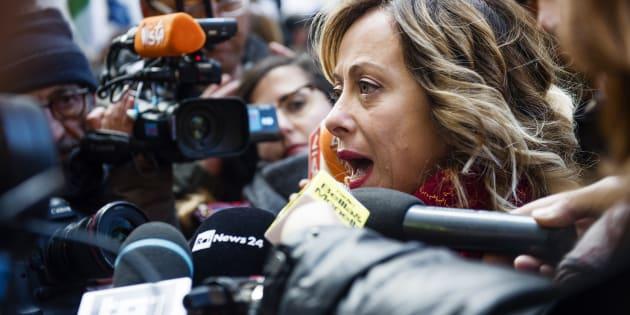 Giorgia Meloni pronta a referendum per abrogare il reddito d