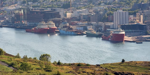 A view from Signal Hill on the harbour and downtown of St. John's, Nfld., Tues. June 27, 2017.