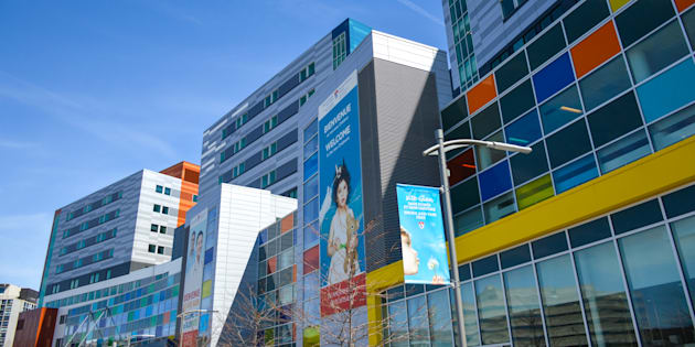 L'Hôpital de Montréal pour enfants.