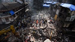 Des images saisissantes après l'effondrement mortel d'un immeuble en