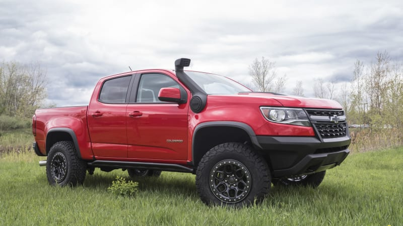 Chevy Colorado aftermarket support picking with new, specialized parts