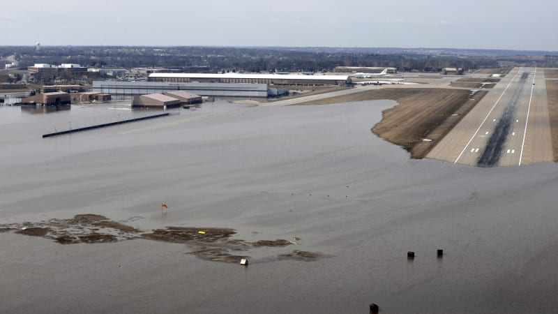Midwest flooding shuts down nearly a sixth of U S  ethanol
