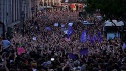 Des dizaines de milliers de manifestants à Pampelune contre le verdict polémique sur un viol