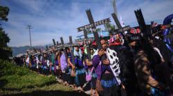 FOTOS: A 20 años de Acteal, habitantes reclaman desplazamientos en