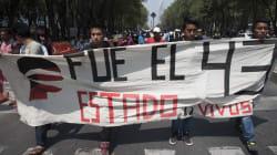 """""""Nos están matando poco a poco"""": familiares de los 43 ante la"""