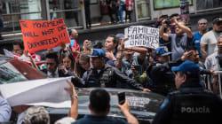 La política migratoria de Trump marca la visita de los secretarios estadounidenses a