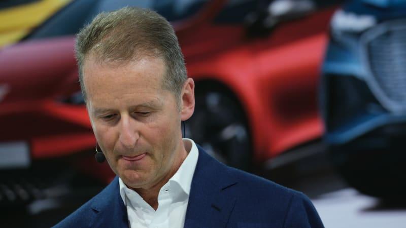 VW supervisory board condemns CEO's mimicry of Nazi slogan