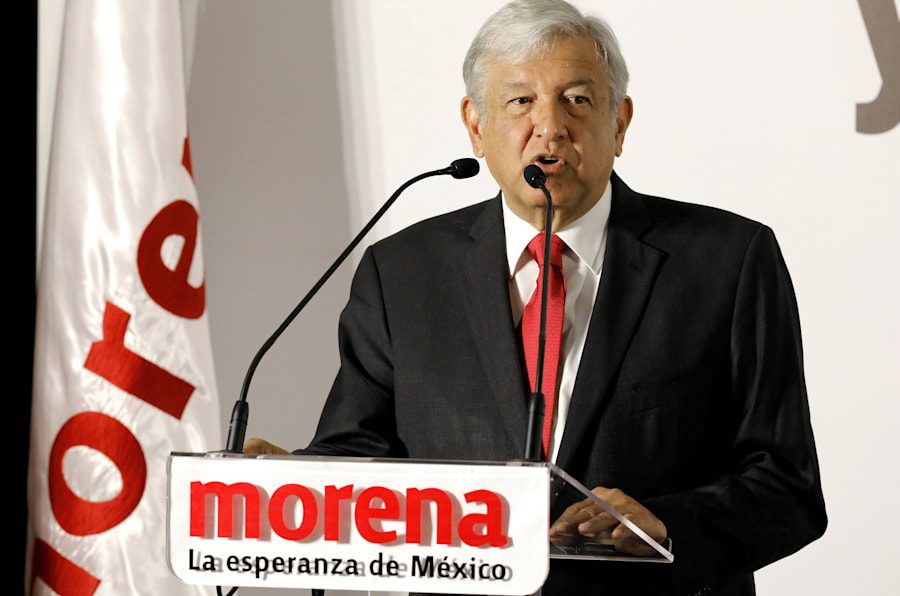Andrés Manuel López Obrador. REUTERS/Carlos Jasso