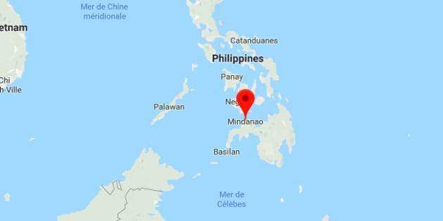 C'est l'île de Mindanao qui a été frappée par le séisme, un tsunami est craint sur les côtes philippines et indonésiennes.